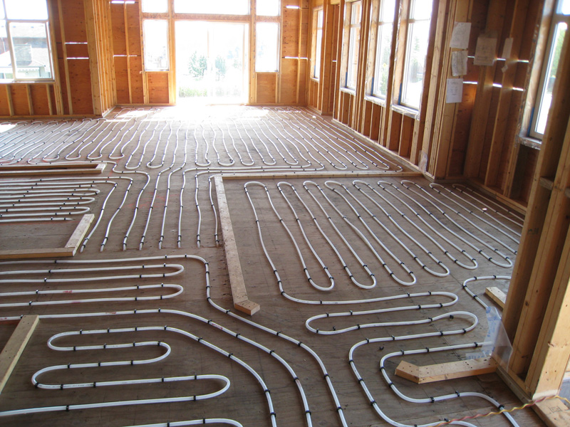 Heated floor system