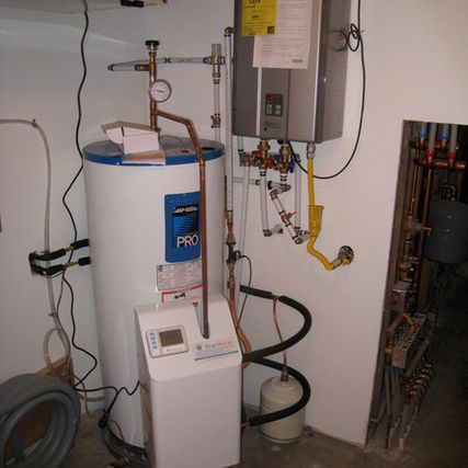 Solar domestic hot water systems